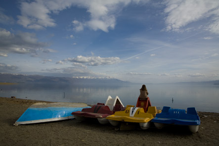 Lake Ohrid in Struga